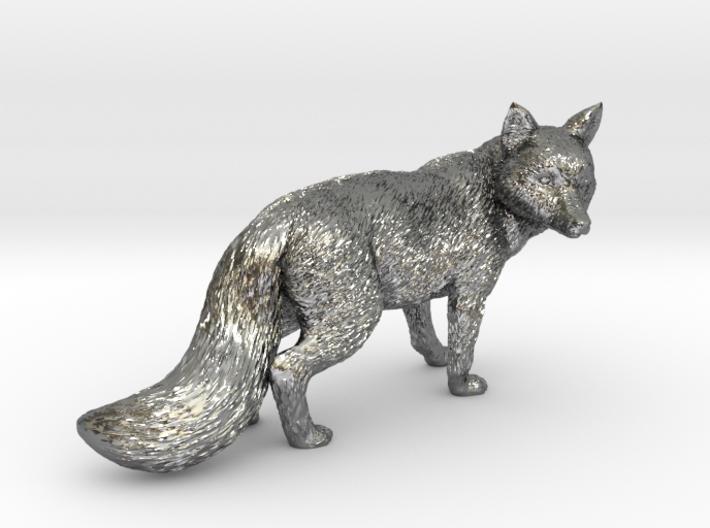 Fox statue 3d printed
