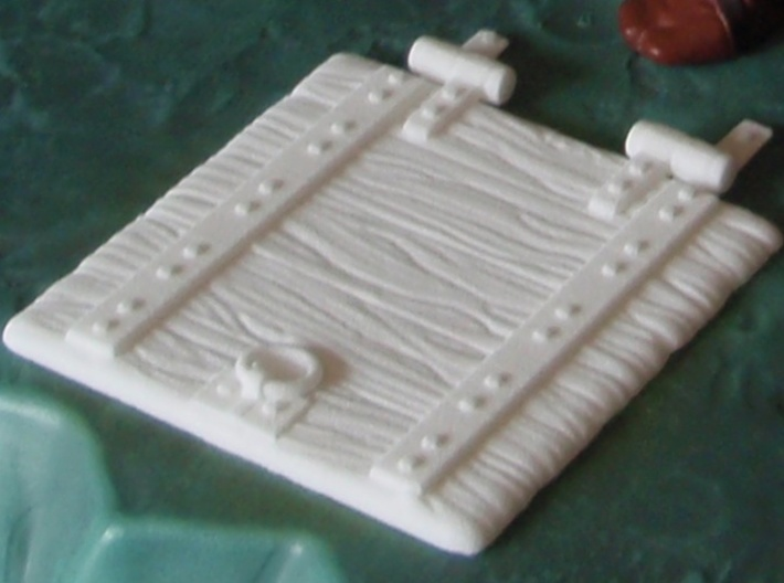 Castle Floor Plug Door 2013 - H-Bz 3d printed Top side