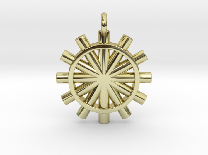 Suspension of the Sun 3d printed