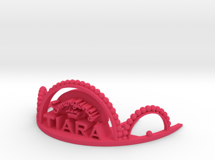 Emergency Tiara 3d printed