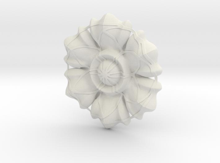 Figure Rosette 3d printed