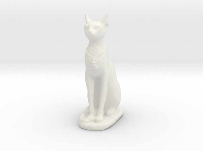 Printle Thing Egyptian Godcat - 1/24 3d printed
