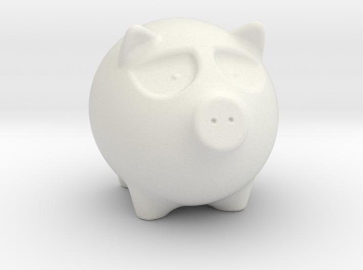 Annoyed Porky 3d printed