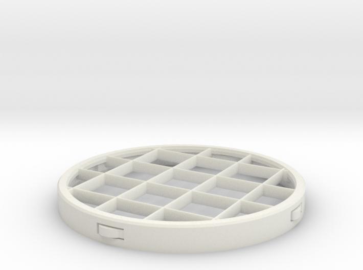 PVC Vent Screen Insert 3d printed