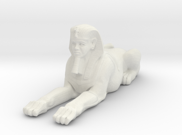 Printle Thing Egyptian Statue 1/24 3d printed