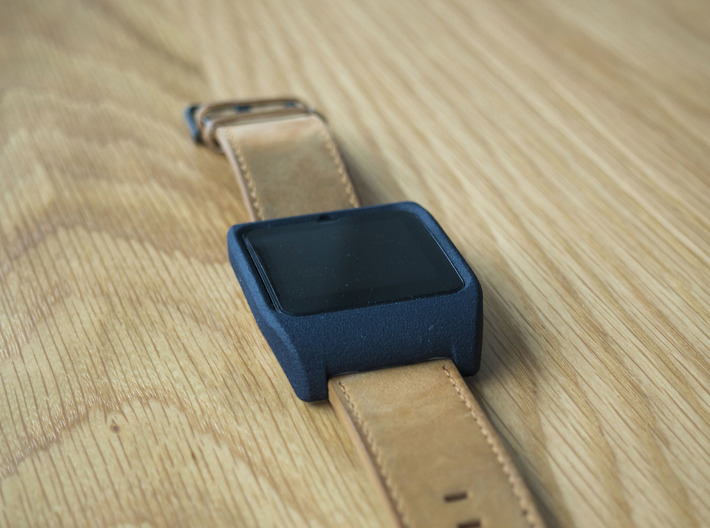 Sony SmartWatch 3 RAISED BEZEL adapter 24mm 3d printed