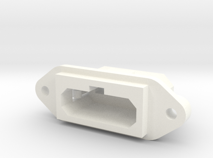 SNES Style Panel Mount Multiout Socket 3d printed