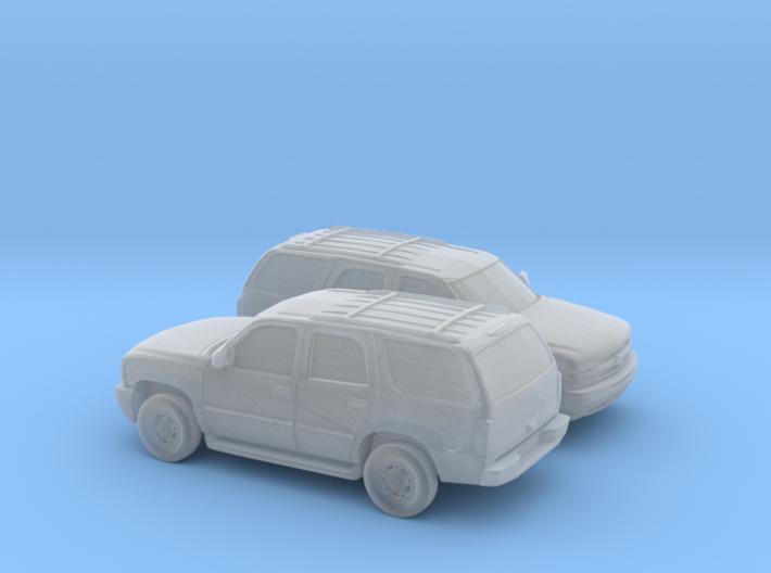 1/160 2X 2000 Chevrolet Tahoe 3d printed
