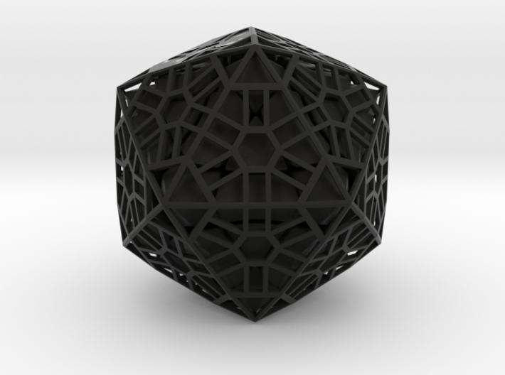 Megaminx Icosahedron Inward 3d printed