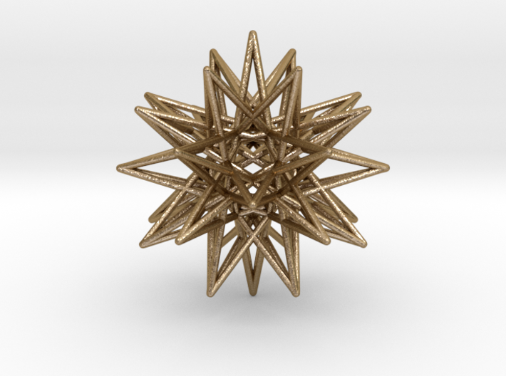 IcosiDodecahedral Star 3d printed