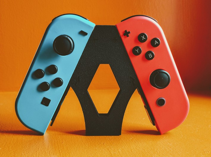 Arrow Joycon Grip 3d printed