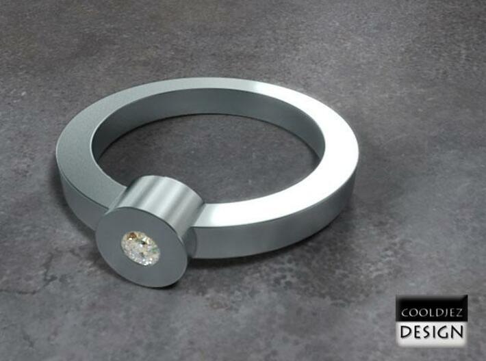 Ring - 1Tube 3d printed RenderD