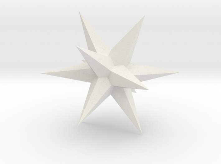 Star - Stellated Dodecahedron 3d printed