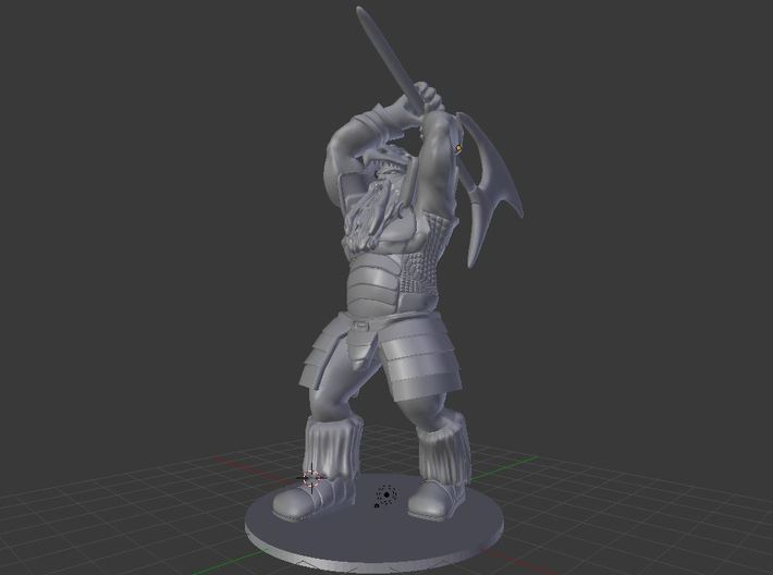 Harshnag the Good Frost Giant 3d printed