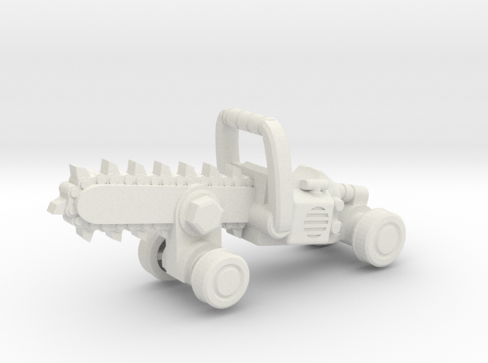 Chainsaw Car, Hot Wheels Size 3d printed