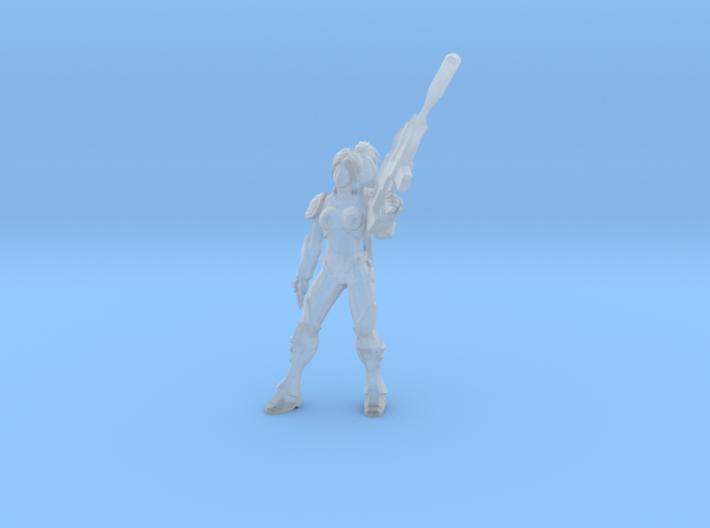 1/24 Terran Heroin Nova Co-Op Pose 3d printed