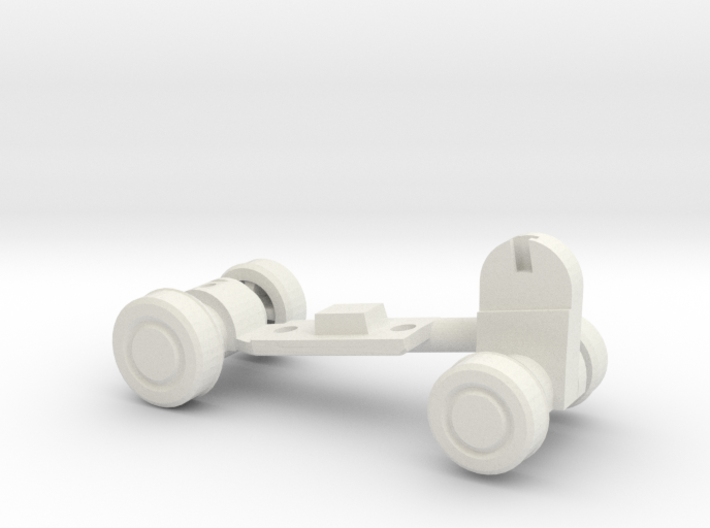 Chainsaw Car, Part B (Undercarriage) 3d printed