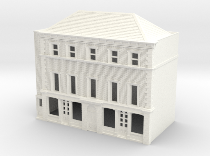 N Scale Rye High Street building 1:148 3d printed