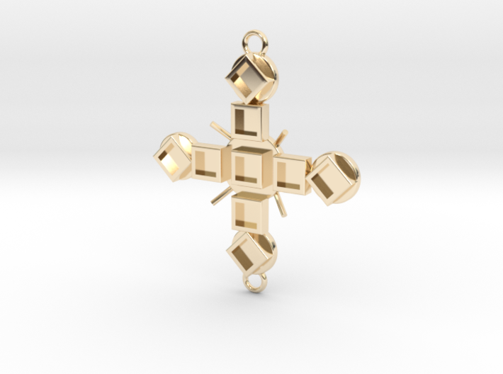 Pendant Luctor 3d printed