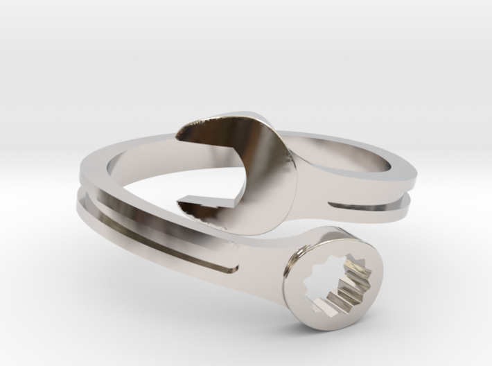 Drive Girl. Spanner ring. Speed and drive. 3d printed