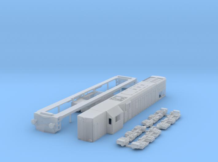 N Scale G22 or JZ / SZ 644 locomotive 3d printed