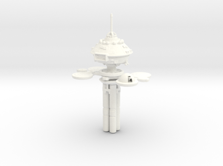 Space Station Regula One 1/1000 3d printed