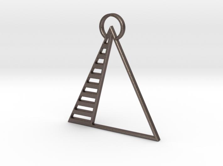 Pyramid Pendant 3d printed