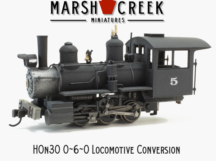 HOn30 0-6-0/ 2-6-2 Conversion Kit 3d printed