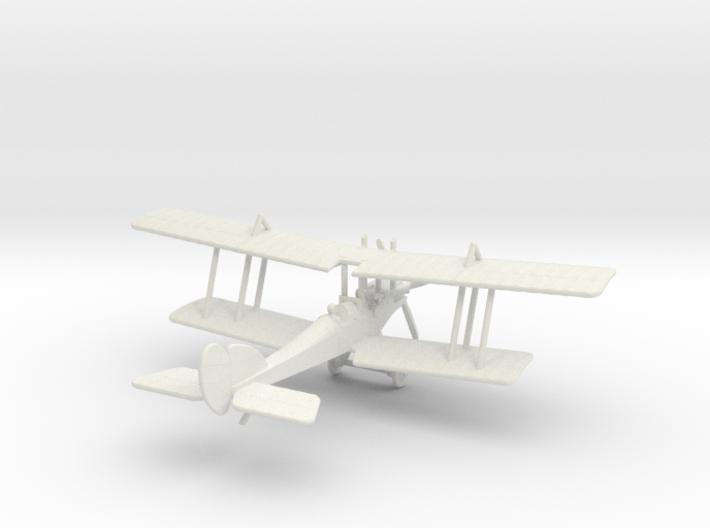 R.A.F. B.E.2e 3d printed 1:144 RAF BE2e
