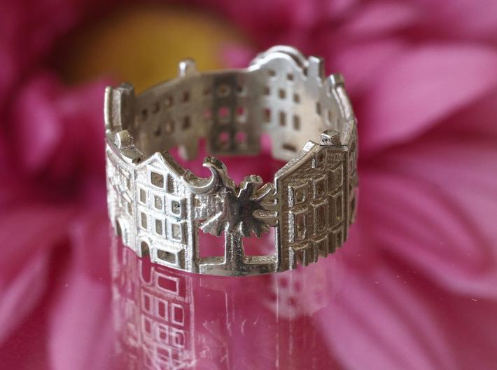 Charleston Cityscape - Skyline Ring 3d printed
