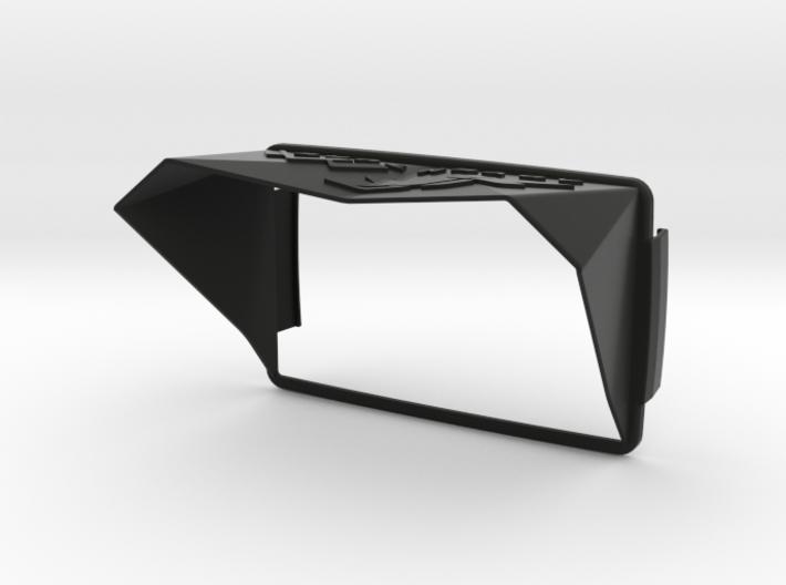 Sunshade (Clip-On) for BMW Navigator 6, XR-Logo 3d printed