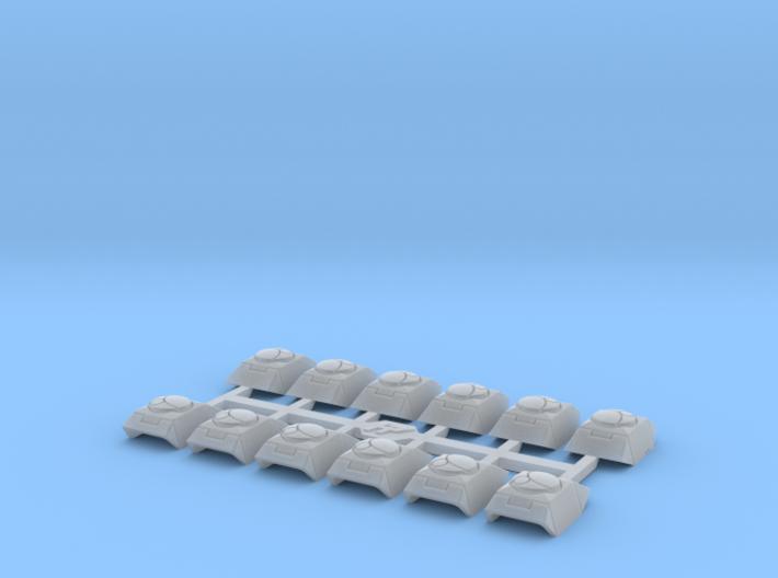 Shoulder Pads Bravo 1 3d printed