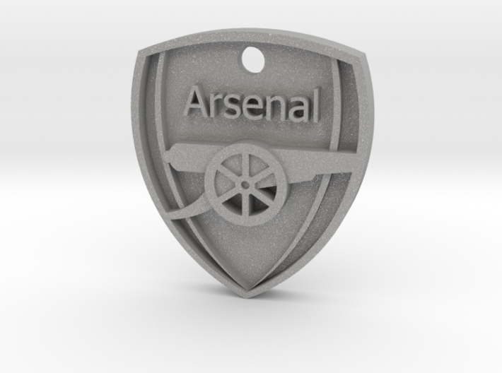 Arsenal FC Shield KeyChain 3d printed