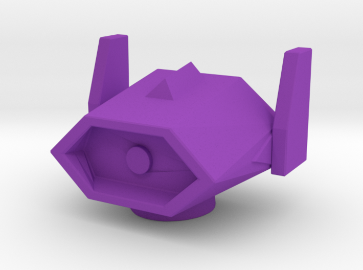 ShockWave Head 18mm for a Combiner Cyclonus body 3d printed