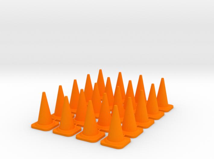 20x PACK 1:50 Construction cones / Kegel. 3d printed
