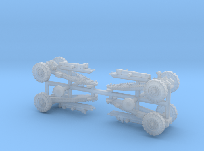 British WWII BL 6in 26cwt Howitzer 1/285 3d printed
