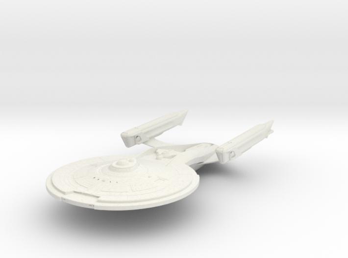 Garner Class V BattleCruiser 3d printed