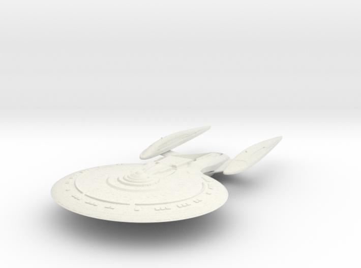 Garner Class VII C Refit BattleCruiser 3d printed