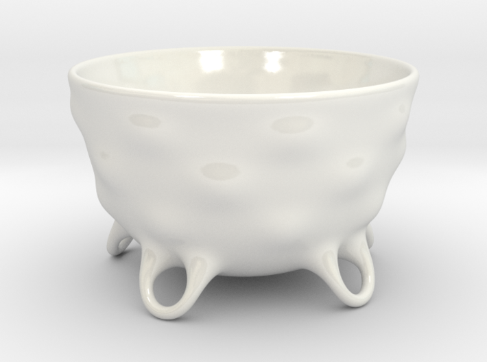 Matcha Chawan jap. 茶碗 Teacup for Jap. Tea Ceremony 3d printed