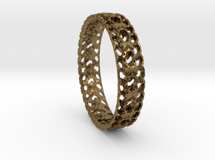Shell Ring 3d printed