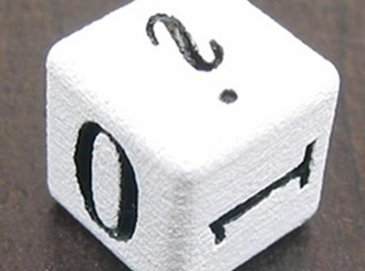 Mathematician's Die 3d printed i 0 1 photo