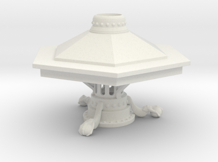 McGann Console  - With Support Plinth 3d printed
