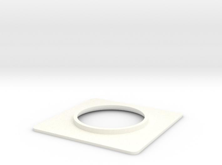Seaking Nose Light Surround. 3d printed
