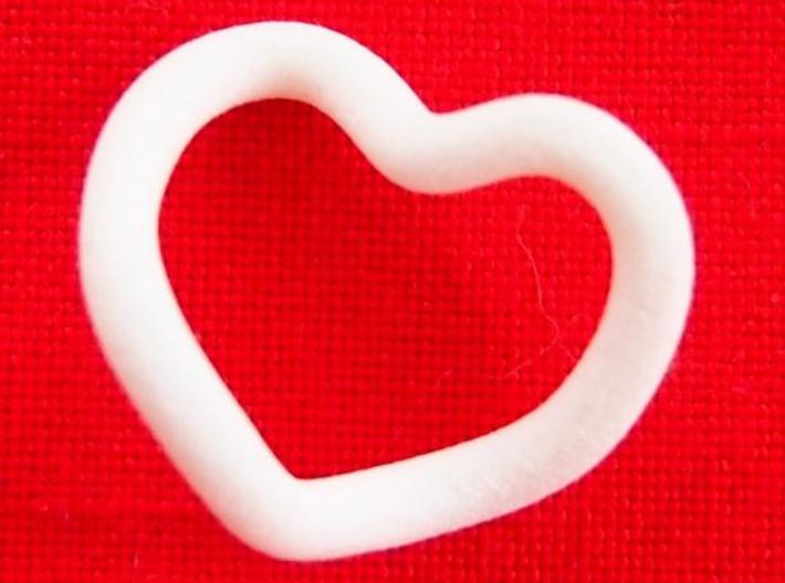 Infinity Heart  3d printed From the front