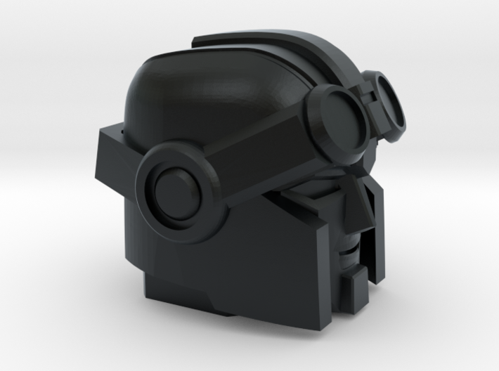 Whiny Hauler's Head on a Tank 3d printed
