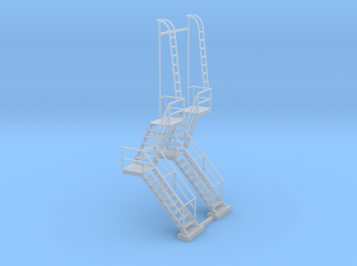 NYC - OW, HS & DV Towers - Stair (2X) 3d printed