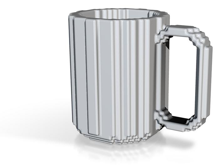 Pixel Mug / Voxel Mug 3d printed