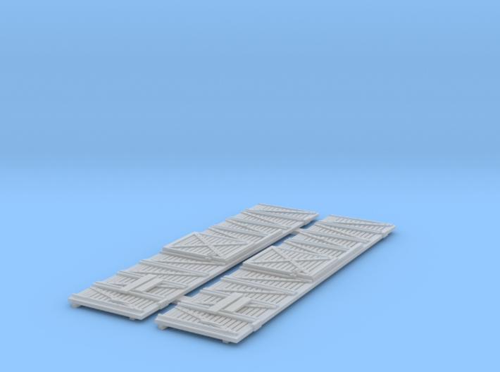 ATSF STOCKCAR Sk-2/3/5, sides 3d printed