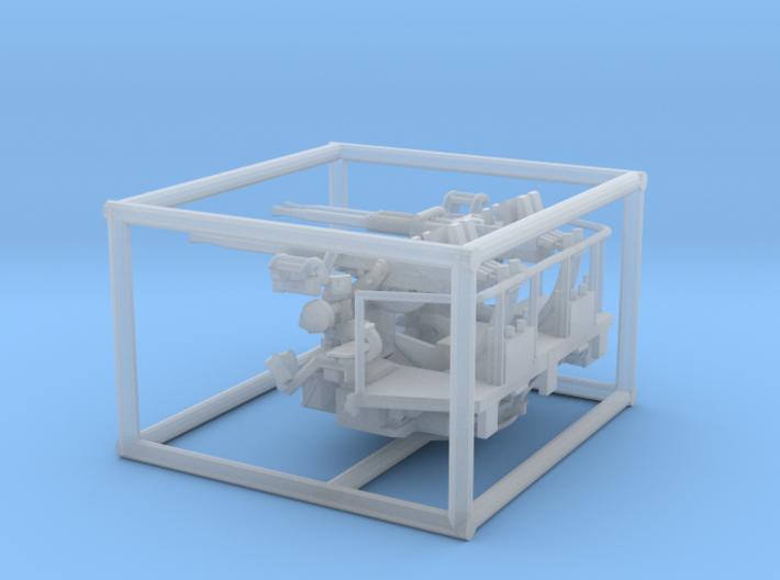 1/144 40mm Bofors quad mount 3d printed