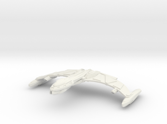 """Locust Class Cruiser 7"""" wing to wing 3d printed"""